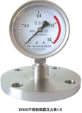 DN50不锈钢隔膜压力表