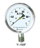 不锈钢压力表Y-100F