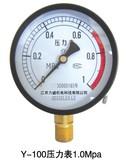 Y-100压力表1.0MPa